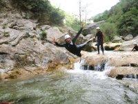 Canyoning pres de Perpignan