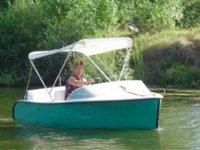 bateau electrique sans permis sur la Garonne