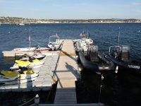 Base nautique situee a Bandol, dans le Var