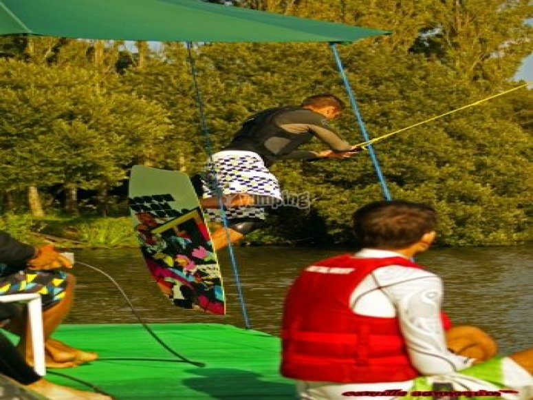 how to ride a wakeboard
