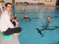 Entrainements en piscine
