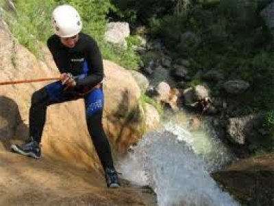 Deep Green Deep White Canyoning