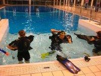 Plongee en piscine avec SUC Plongee
