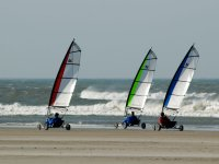 Char a voile competition