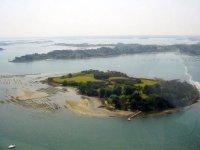 Golfe du Morbihan vu du ciel avec Alize Organisation
