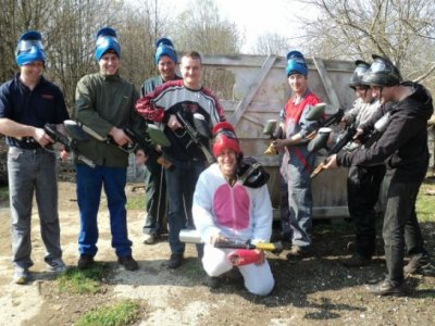 Paintball dans le Doubs 300 billes