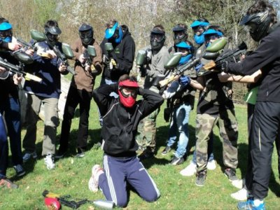 Paintball dans le Doubs 700 billes