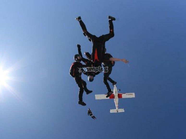 Stage PAC avec Sunrise Parachutisme