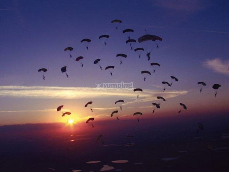 Saut en parachute Taillard