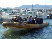 Sortie plongee a St Cyr sur mer