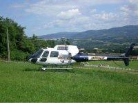 Saut depuis un helicoptere! Une experience unique