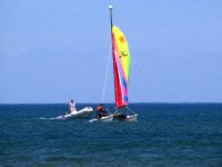 Balade catamaran en autonomie