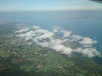 Lac Leman vu du ciel
