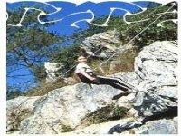 Escalade sur roche naturelle