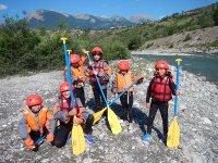 Rafting sur la Durance