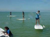 Paddle surf en Normandie