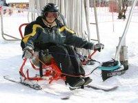 Ski kart en Savoie