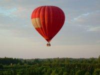 Vol en montgolfiere pour un seminaire