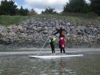 Sortie a theme en Paddle surf