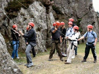 Auvergne Séminaire Escalade