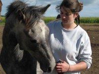 Amitie cheval cavalier