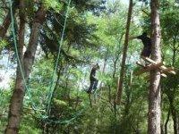Parcours aventure pour adultes avec le Bureau des Moniteurs de la Vallee de l Herault Parcours Aventure