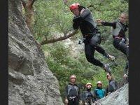 Saut canyoning niveau moyen