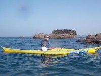 Sorties en mer en kayak
