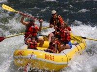 Rafting en famille a Leucate