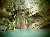 Paysages exceptionnels en canyoning