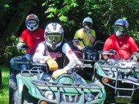 Sorties en quad dans l Allier
