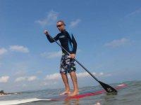 Mini stage de paddle surf en lac