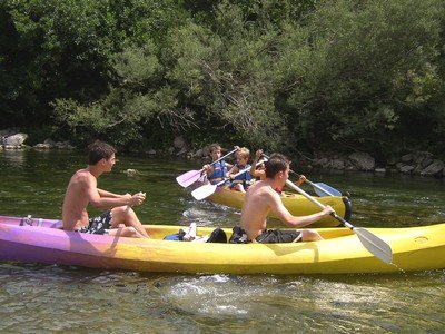 Parcours 7km en Canoë-Kayak dans l'Hérault