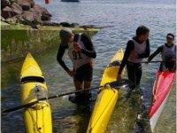 Sortie nautique en kayak