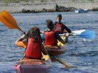 Balade en mer en kayak