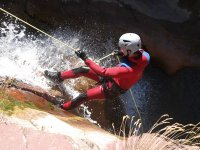 Canyoning dans les Alpes maritimes