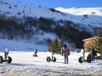 Le segway dans la neige