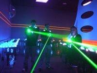 enterrement de vie de jeune gens laser game