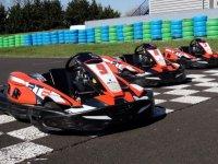 Les karts du circuit Sarron