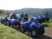 Location de quads en groupe
