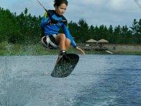 Saut wakeboard a tout age