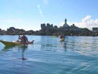 Initiation kayak de mer