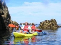Kayak littoral breton