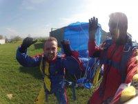 Apres le saut en parachute