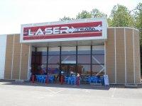Laser et terrasse
