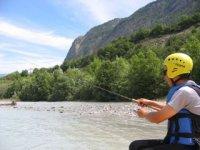 Faites de la peche en rafting avec Jour de Raft Peche