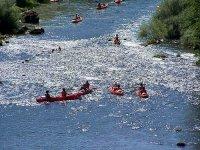 Sortie canoe kayak en groupe