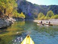 Parcours de 8 km en Canoe Kayak