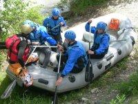 Apprenez les techniques de pilotage du Raft avec les moniteurs diplomes d etat de Piraft