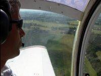 A bord avec le pilote